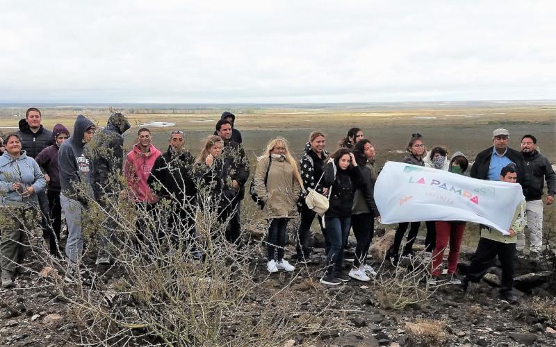 Capacitación de agentes de turismo y divulgación del conocimiento sobre el volcanismo del oeste de La Pampa