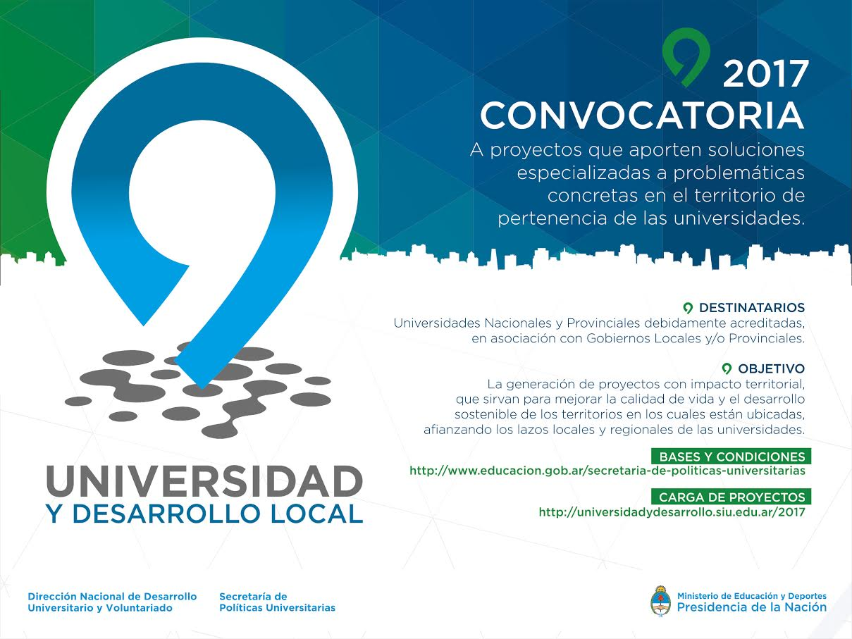 universidad y desarrollo local